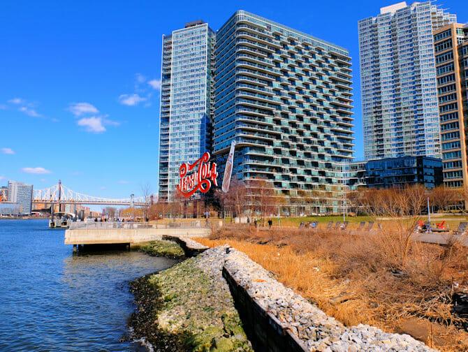 Long Island City i New York - Gantry Park