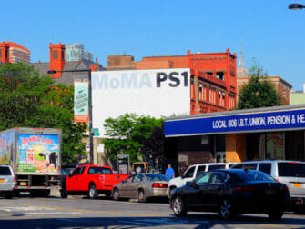 Long Island City in NYC - MoMa PS1