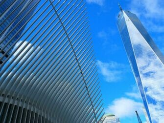 Lower Manhattan in NYC - 1WTC