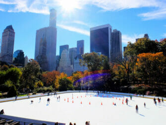 Skating in New York - Central Park
