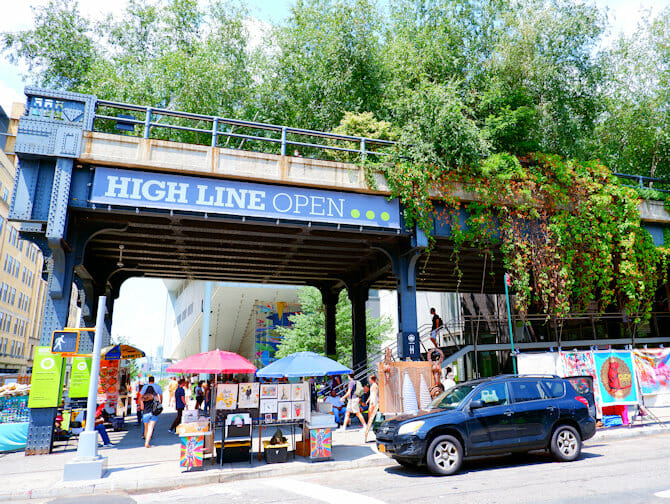 Meatpacking District in New York - The High Line