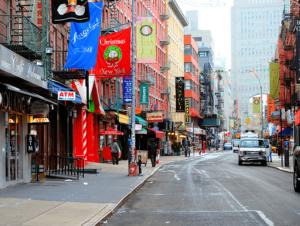 Neighbourhood Little Italy in New York