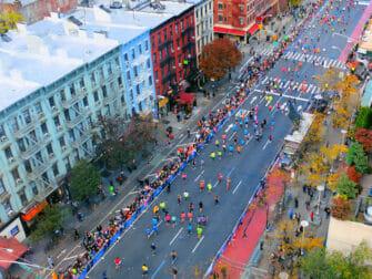 New York Marathon - First Avenue