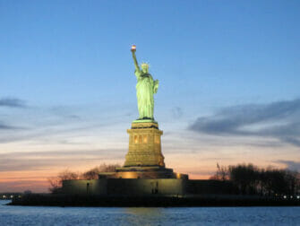 Twilight Boat Cruise - Statue of Liberty by sunset