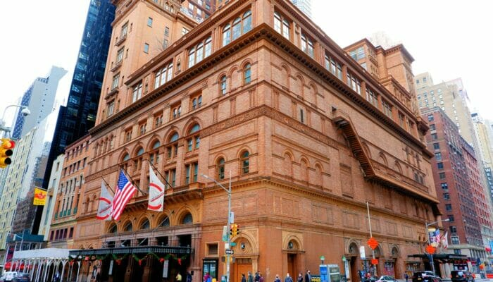 Carnegie Hall in New York - Concert Hall