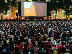 Free Films in Bryant Park