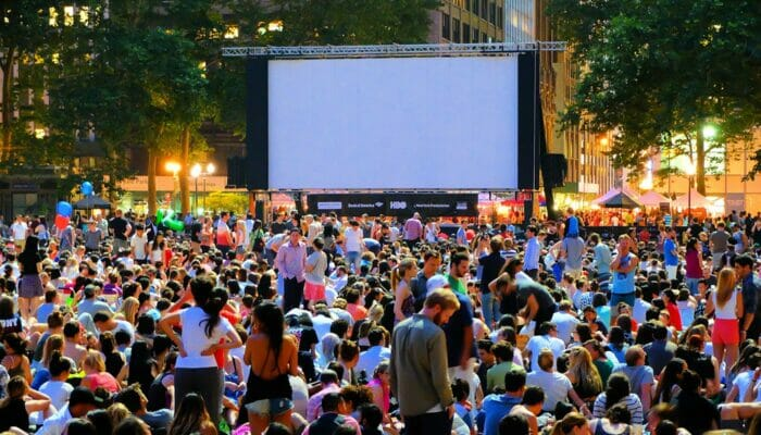 Free Films in Bryant Park - Movie Night