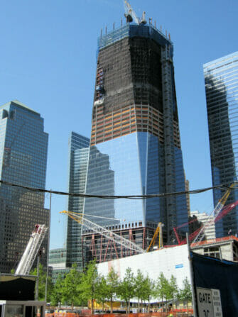 Freedom Tower/One World Trade Center- construction
