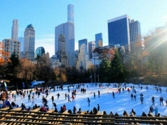 Central Park - Skating on the Wollman Rink