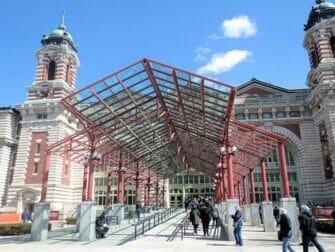 Ellis Island in New York - Museum Entrance
