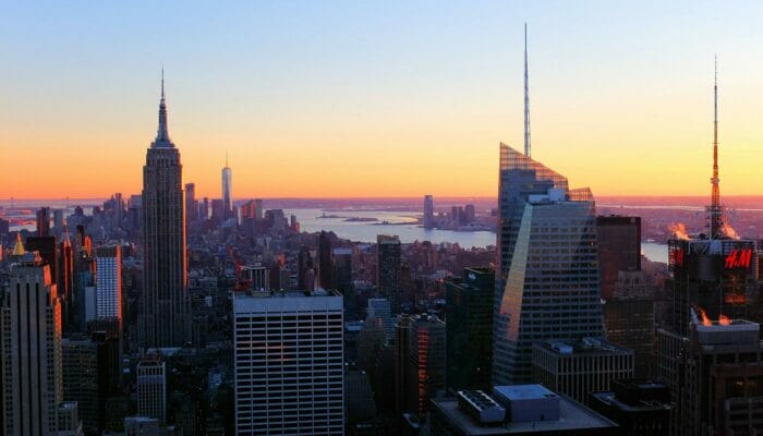 Top of the Rock Tickets - Sunset View