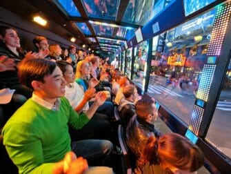 The Ride in New York - inside the ride new york