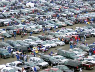 New York Giants -liput - Parkkipaikka ennen New York Giants -peliä