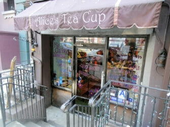 High Tea at Alice's Tea Cup in Upper West Side in NYC