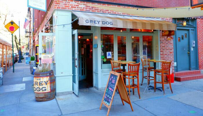 Bästa kaffet i New York - Grey Dog