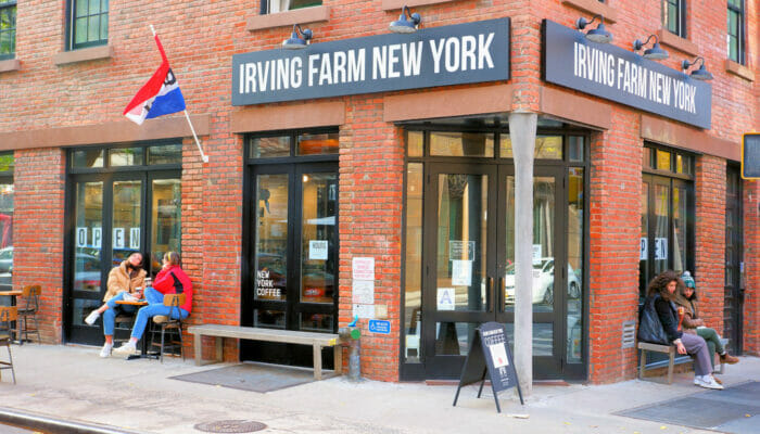 Best Coffee Shops and Bagel Bars in New York -Irving Farm