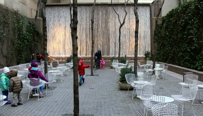 Parks in New York Paley Park