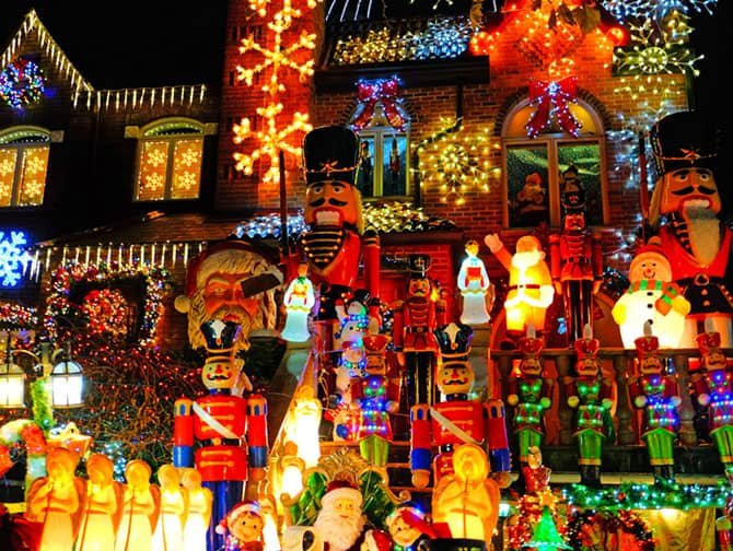 Christmas Season in New York - Dyker Heights