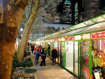 New York Markets - Bryant Park - Decorations