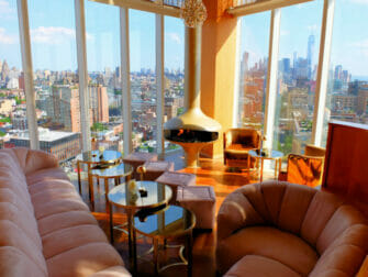 Rooftop Bars in New York -The Top of the Standard View