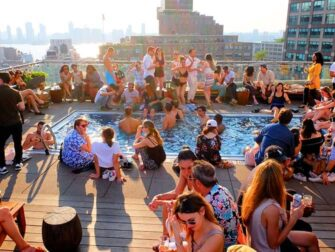 The Best Rooftop Bars of New York The Pool