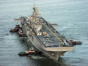 Ships for fleet week new york