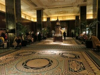 The Waldorf-Astoria Hotel in New York