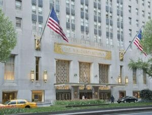 Waldorf astoria in new york