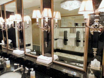 The Waldorf-Astoria Hotel in New York - toilet