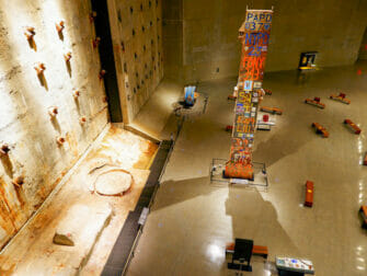 9/11 Museum in New York - inside