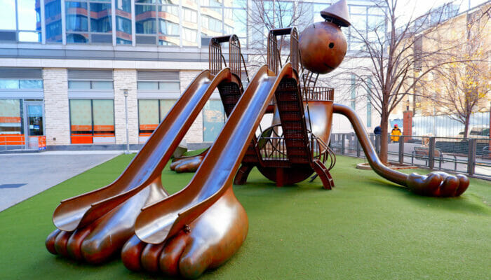 Silver Towers Playground in New York