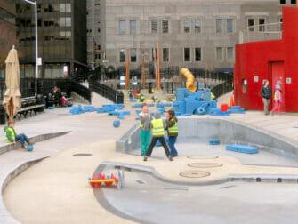 South Street Seaport Playground New York