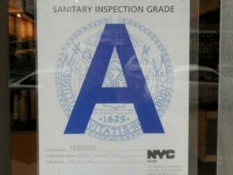 Hygiene in Restaurants in New York - Grade A Restaurant
