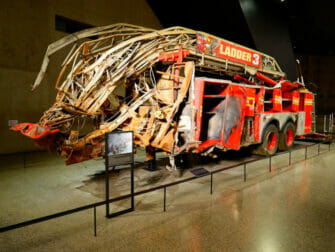 9/11 Museum in New York - Fire truck