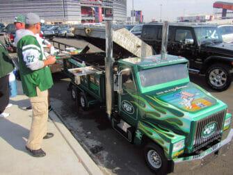 New York Jets -liput - Parkkipaikka