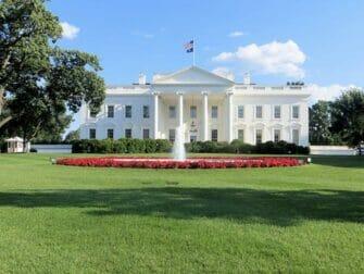 New York to Washington D.C. by Train Day Trip - White House