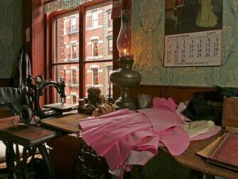 Tenement Museum in New York - Levine Parlor Battman Studios