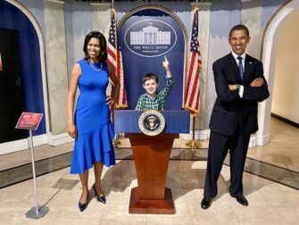 What to do in New York with kids - Madame Tussauds