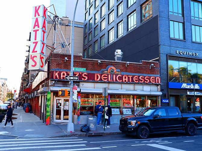 Lower East Side in NYC - Katz's Deli