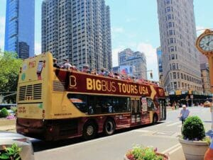 Hop on Hop off Bus in New York