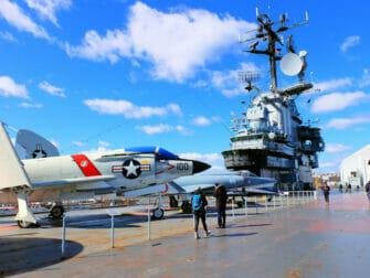 Veterans Day in NYC - Intrepid Museum