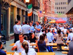 Stone Street Restaurants in New York