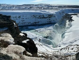 Stopover in Iceland - Waterfall
