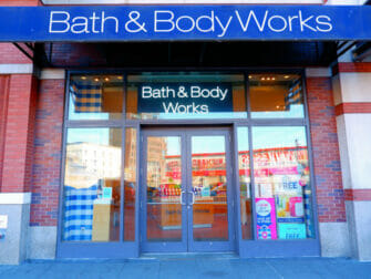 Make up in New York Bath and Body Works