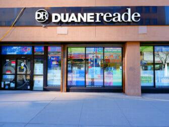 Make up in New York Duane Reade