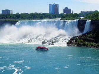 Niagara Falls by Private Plane Day Trip - Boat Tour