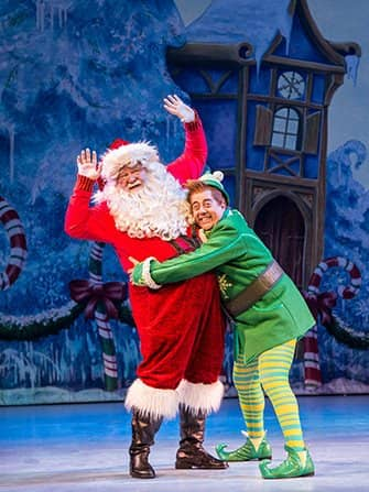 Elf the Christmas Musical Tickets - Buddy and Santa