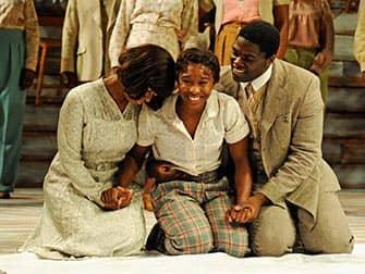 The Color Purple op Broadway - Cast