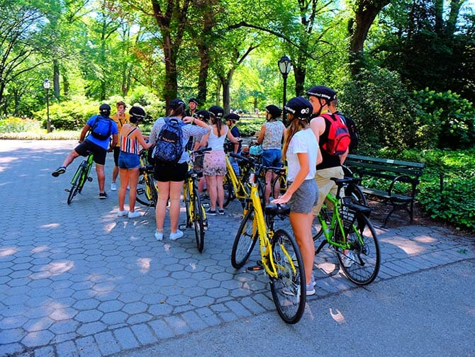 Bike Tours in New York