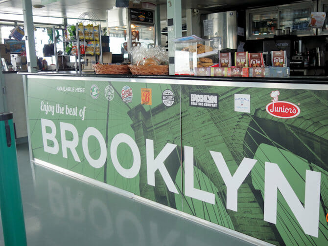 Circle Line: Landmarks and Brooklyn Cruise - Bar on Board